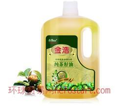 金浩茶油 纯茶籽油 5L PE装