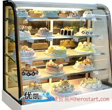长春 蛋糕柜卖,辽源蛋糕展示柜经销商合肥优凯
