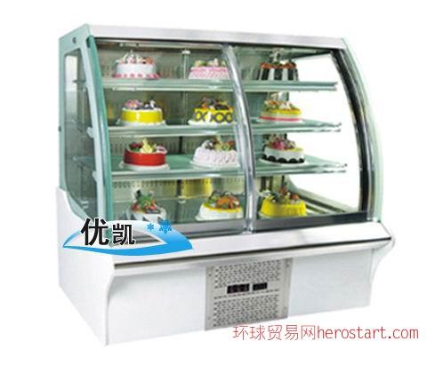 厦门蛋糕展示柜订做企业,泉州、福州蛋糕展示柜价格