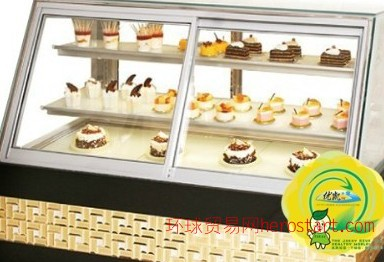 铁岭蛋糕柜经销商,大连鞍山蛋糕展示柜生产厂家合肥优凯