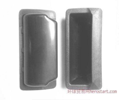 塑料暗拉手 铁皮柜塑料扣手 铁皮柜把手电器箱机柜