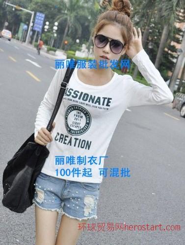 夏季便宜短袖T恤批发新款热卖流行情侣装T恤快
