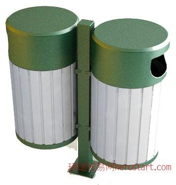 广告垃圾桶-分类果皮箱-钢板垃圾桶