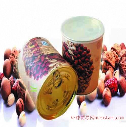 茶叶纸罐,茶叶纸筒、干果包装,食品包装纸罐