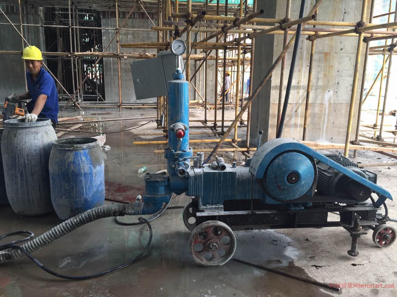 高压砂浆泵,仅用三月,低价转售!!