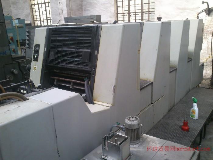 07年冠华52-4高配二手胶印机
