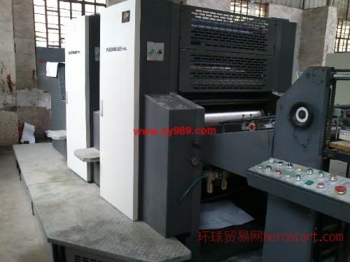 10年景德镇PZ2740E酒精双色CP窗二手印刷机