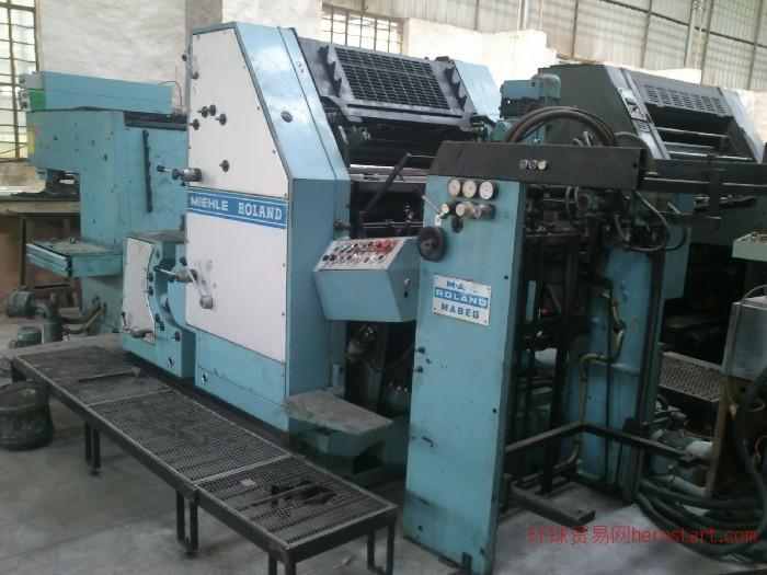 罗兰OB四开双色胶印机二手印刷机二手印刷设备