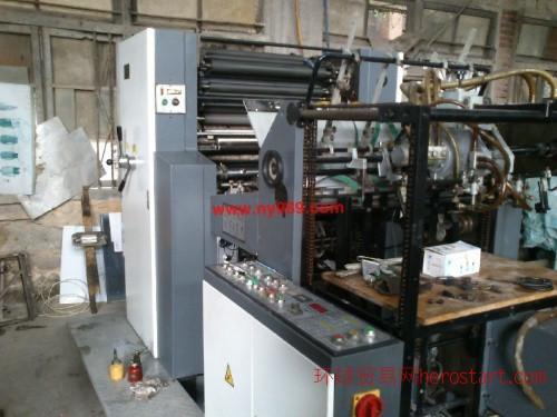 二手09年景德镇PZ1660E四开单色印刷机