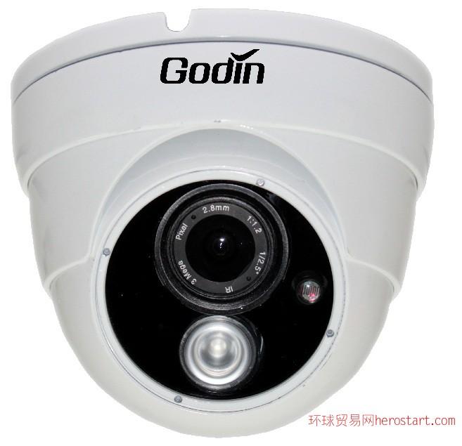 半球项目型130万高清红外网络摄像机