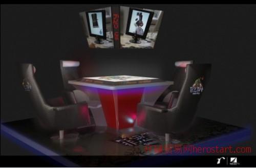 """原创增强现实技术3D成像好玩桌游""""罪恶都市"""""""