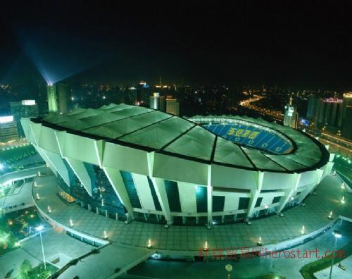 2013年7月上海八万人体育场招聘会