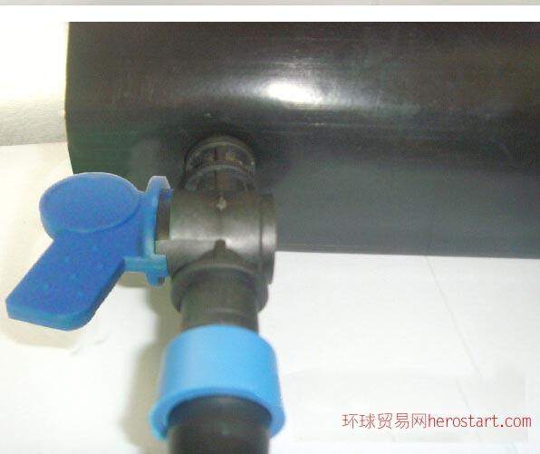 膜下滴灌带用锁母水带旁通阀开关