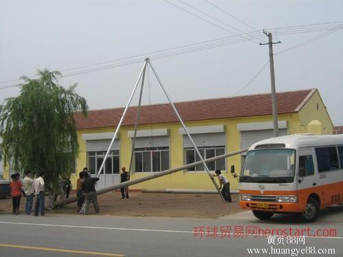 铝合金立杆机三脚架立杆机电线杆立杆机厂家直销
