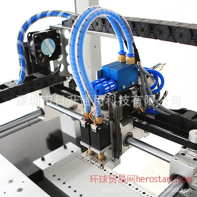 深圳机械厂家专业生产全自动贴片机 高速小型led贴片机加工定制