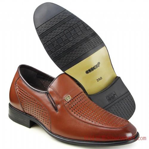 高哥内增高鞋93980男式增高6.5cm凉鞋