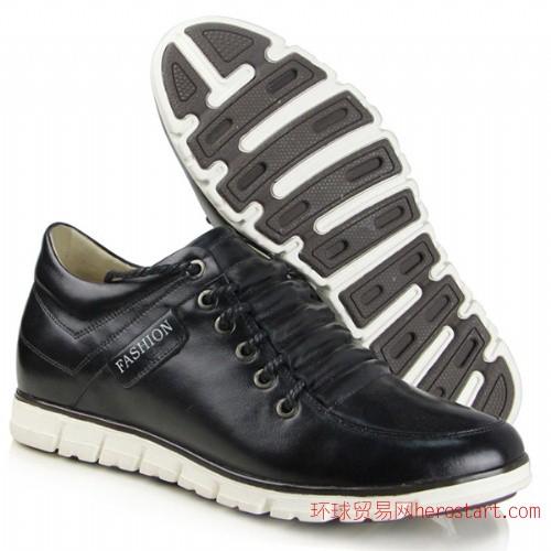 新品 高哥内增高男鞋23206男式真皮板鞋