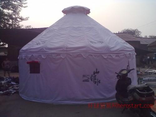 郑州金雨发帐篷厂钢架材质景区蒙古包