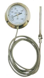 不锈钢压力式温度计/WTZ-280压力式温度计/工业温度计