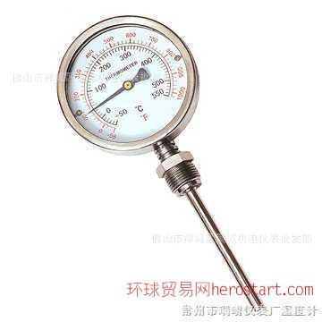 佛山温度计、双金属温度计、富阳双金属温度计、红旗双金属温度计