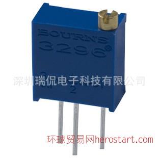 BOURNS 电位器 3296W-1-500lf 50阻值