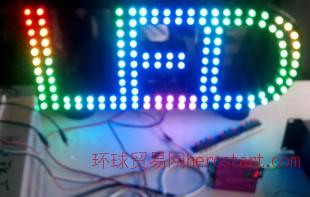LED全彩店面招牌 控制器(可配电源) LED广告字