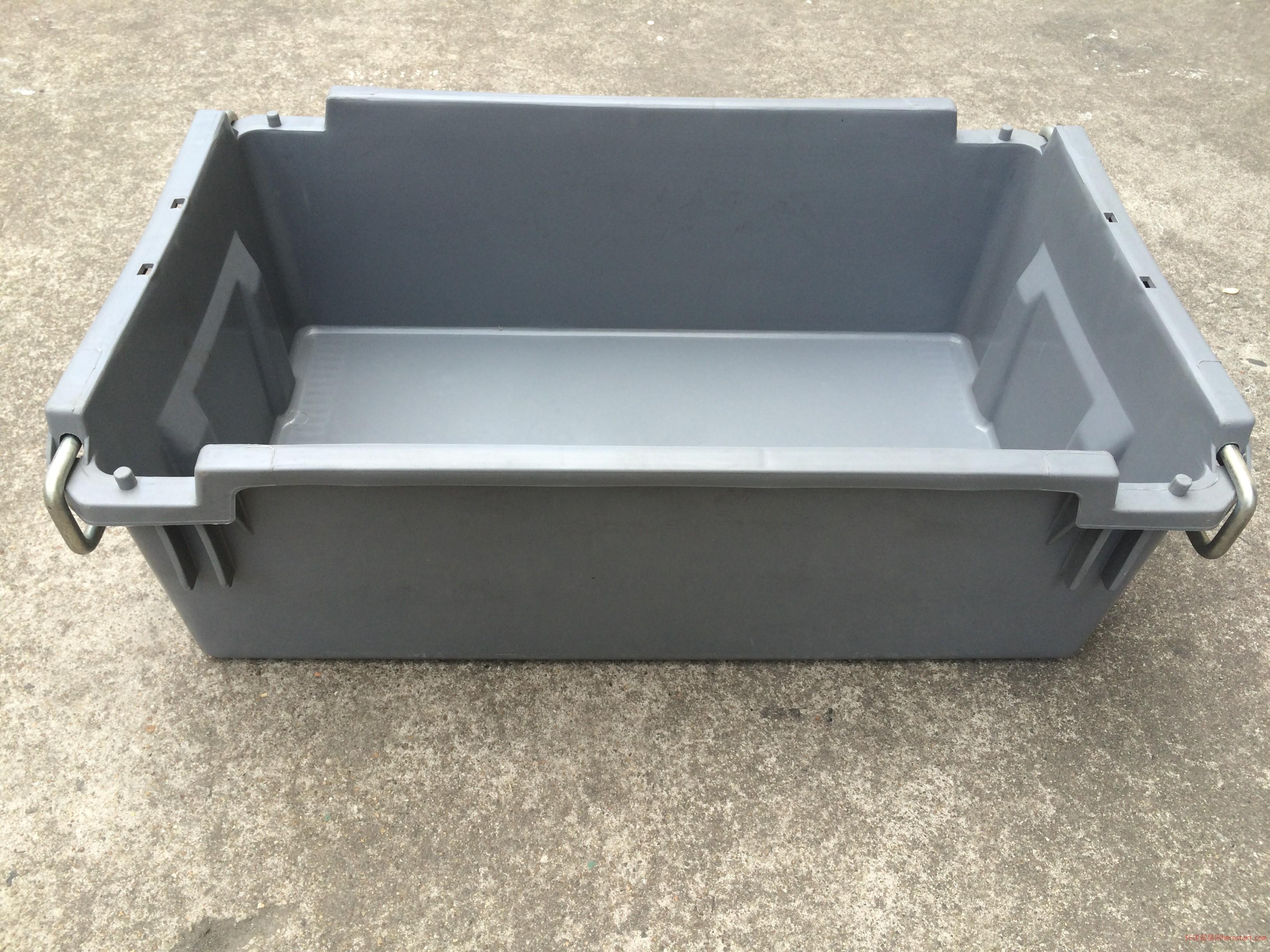 厂家直销周转箱、物流箱、铁环箱