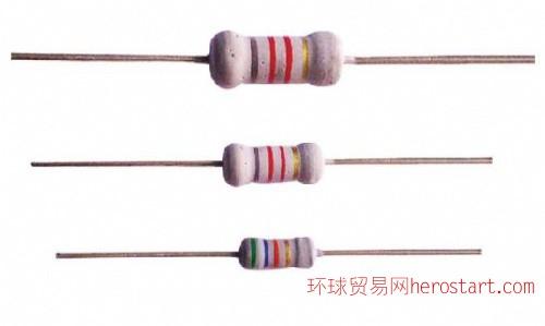 金属氧化膜电阻器RY系列0.25W-5W