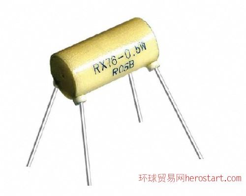 四引线精密线绕电阻器RX76 0.25W-3W