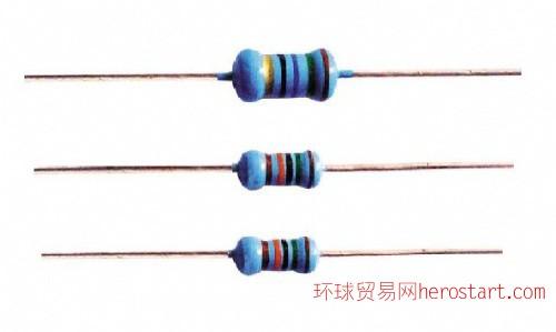 金属膜电阻器RJ系列1 6W-3W