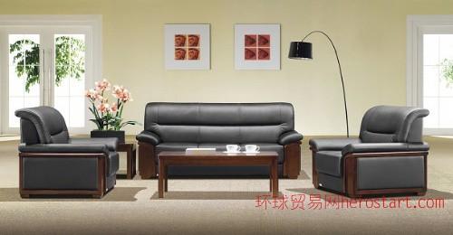 荣业家具办公沙发A001