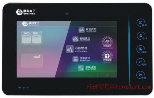 惠州晟科电子SK-TCP-F3楼宇对讲室内机