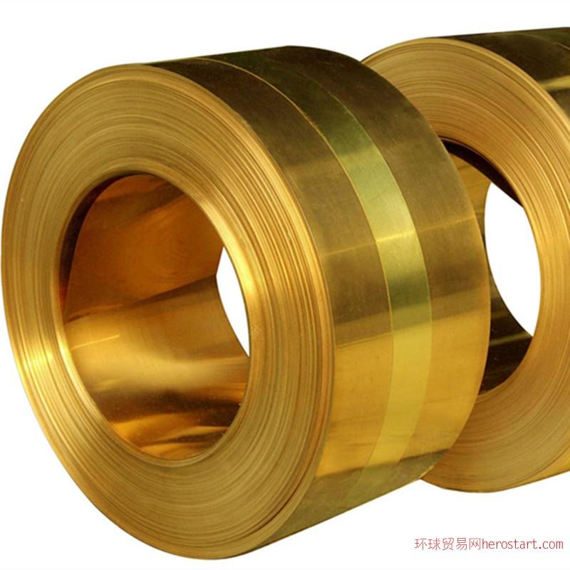 高精H68 H70黄铜带 冲压用黄铜带、拉伸卷带