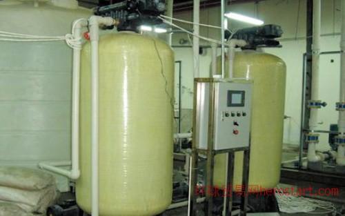 长春浴池锅炉软化水设备