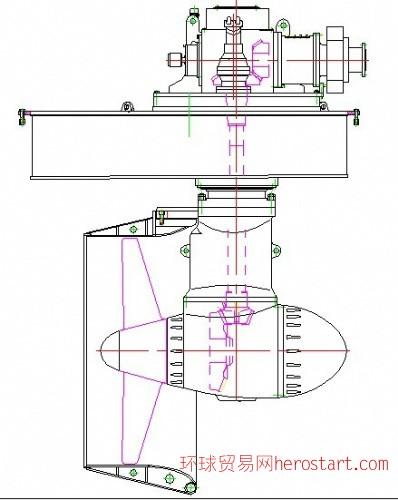 全回转导管桨推进器