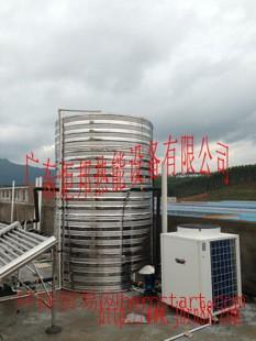 5匹双层蒸发器商用空气能热水器批发直销定做