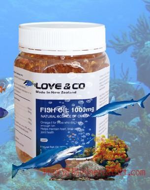 乐芙欧米伽-3鱼油软胶囊1000mg365粒