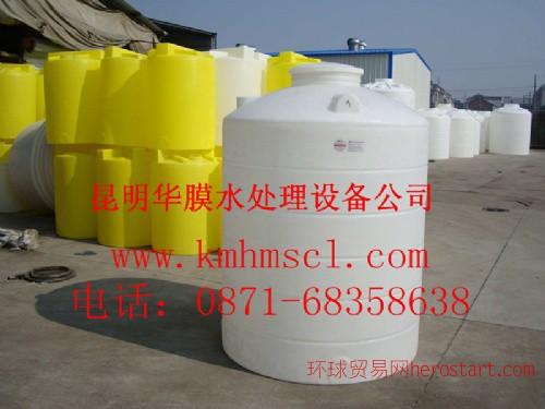 原水处理立式水塔 食品级PE水箱 供应云南各地州