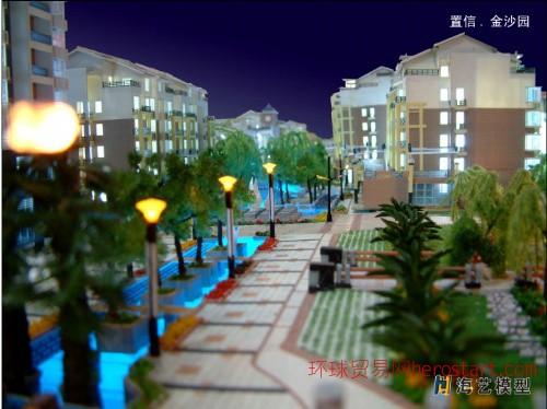 置信金沙园模型设计