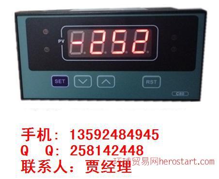 ZWP-C803,香港正润,数显控制仪接线方法