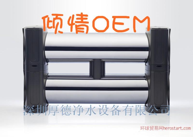 深圳净水器厂家,超滤加碳双芯不锈钢净水器