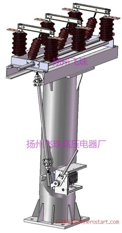GW1-12系列户外高压隔离开关
