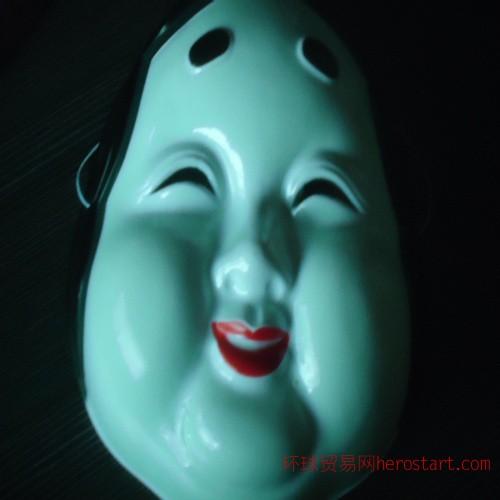 日本面具 动漫面具 日本能剧面具