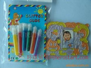 (出口欧美)闪光胶水glitter glue供应商