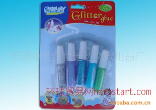 6ml Export glitter glue 金葱粉供应