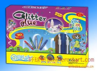 glitter glue 闪光闪粉胶水金葱粉供应商