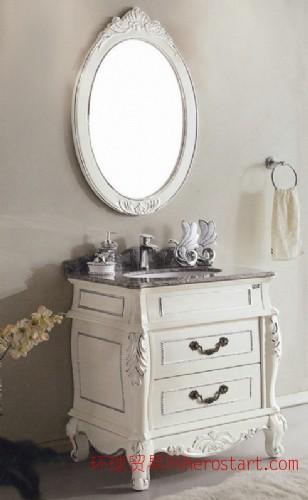 卫迪仕 仿古白浴室柜 2013年仿古柜