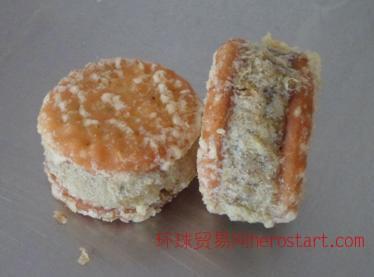 吉圣客绿豆夹心饼