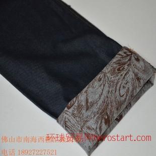新款好纯棉牛仔面料中优质面料好休闲男裤面料汇隆纺织