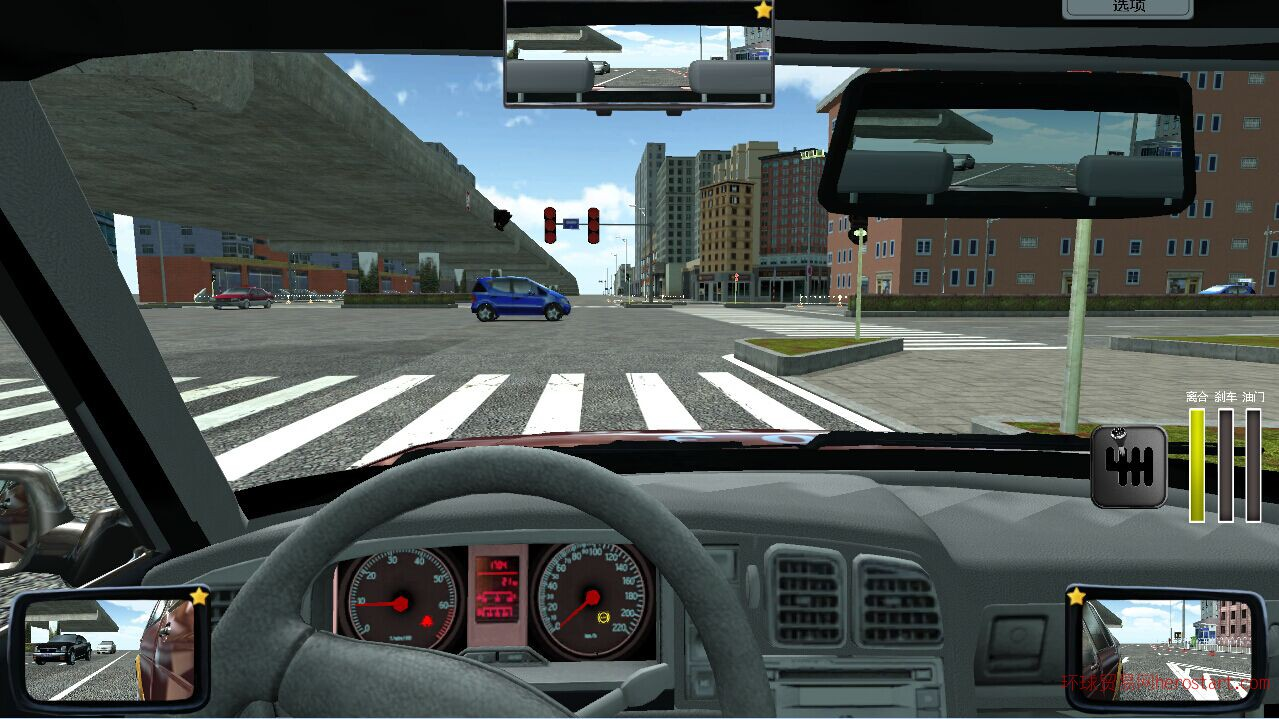 新驾驶模拟软件 学车宝免费下载 机动车培训